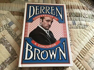 £4.50 • Buy Confessions Of A Conjuror By Derren Brown (Hardcover, 2010)