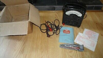 £35 • Buy Avometer Model 8 Mk3. Nice Boxed Example. Not For Steampunk Lamp.