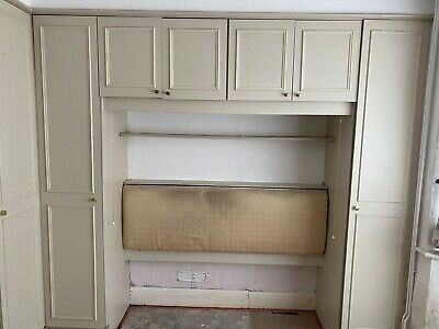 £1 • Buy Used Schreiber Fitted Bedroom Wardrobes L Shaped