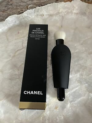 £35 • Buy AUTHENTIC CHANEL TOUCH-UP FACE BRUSH N°104 Pinceau Retouche Teint N°104 BNIB