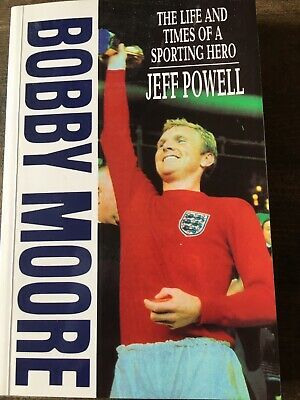 £1.50 • Buy Bobby Moore The Life And Times Of A Sporting Hero By Jeff Powell Paperback Book