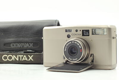 $ CDN704.43 • Buy [Almost MINT Case] Contax TVS III Data Back Point & Shoot Film Camera From JAPAN