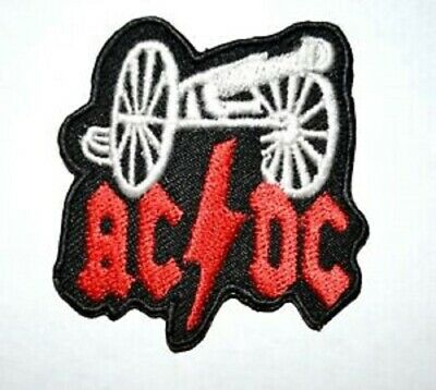£1.90 • Buy ACDC Rock Band Iron On Or Sew On Embroidered Patch #646