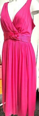 £15 • Buy  S G British Home Stores  Cerise Pink Cocktail  Dress  Sz 16