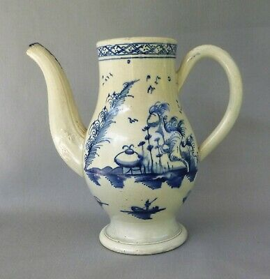 £34 • Buy Pearlware Blue Painted Coffee Pot, No Lid,  Attributed To Swinton,  C 1780-85