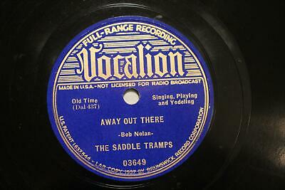 £7.07 • Buy WESTERN SWING THE SADDLE TRAMPS Away Out There VOCALION 03649  E-  Dallas