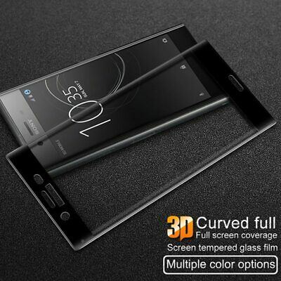 AU6.11 • Buy 3D Full Cover Tempered Glass Screen Protector For Sony Xperia XZ XZs XZ Premium