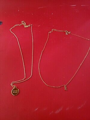 $ CDN24.28 • Buy 2 Lot Kate Spade One In A Million  S  Necklace Gold Jewelry