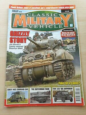 £8.99 • Buy Classic Military Vehicle Magazine Issue 176 January 2016 Sherman M4A1 BTR-90