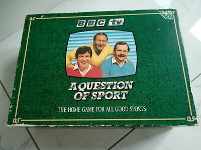£20 • Buy  VINTAGE A Question Of Sport Board Game BBC TV 1986