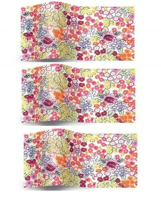 £2.25 • Buy Liberty Bloom Floral Pretty Blossom Flower Tissue Paper Gift Wrap 50x75cm