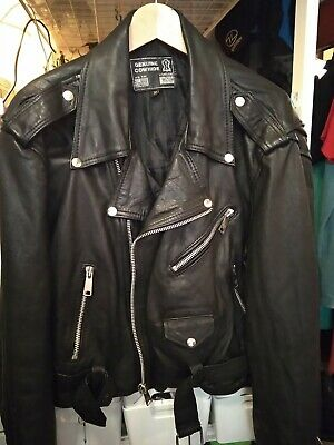 £10 • Buy Leather Jacket XL Ladies Rock Chic Cool