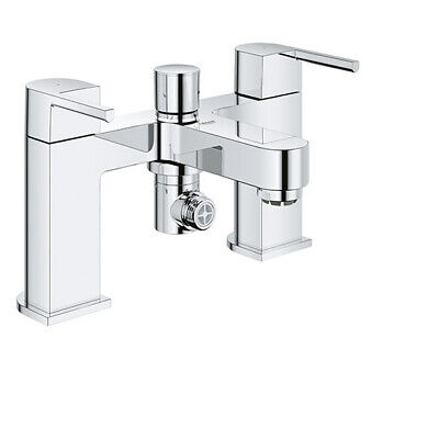 £1 • Buy GROHE PLUS Two-Handled Bath/Shower Mixer 1/2  - 25133003