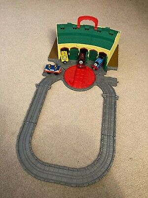 £999 • Buy Thomas And Friends Take N Play Tidmouth Sheds Fold Out Play Set + 3 Engines
