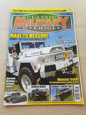 £8.99 • Buy Classic Military Vehicle Magazine Issue 162 November 2014 ACMAT A24 Cavalier