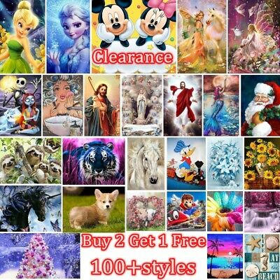 AU12.99 • Buy 5D Diamond Painting Full Drill Embroidery Cross Stitch Arts Home Decoration Gift
