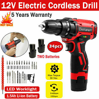 £28.69 • Buy Cordless Impact Wrench 3/8  Brushless Driver Torque Replace & Charger + Battery