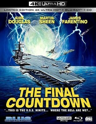 £55.99 • Buy The Final Countdown (limited Edition W/slipcover) ULTRA 4K HD Blu Ray  - Sealed