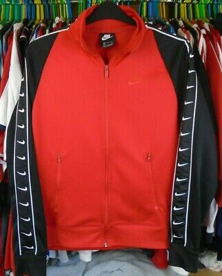 £22.99 • Buy Nike Red Black Tracksuit Track Jacket Top Small Adult