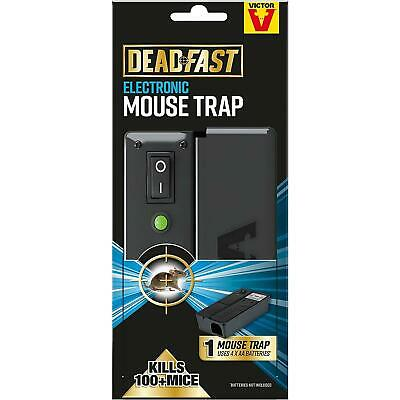 £32.49 • Buy Deadfast Electronic Mouse Trap 100% Kill Rate Quick Humane Rodent Pest Control