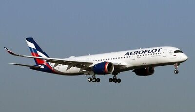 £8.50 • Buy Decal For  Airbus A-350 -900   1/144 Revell Kit   AEROFLOT