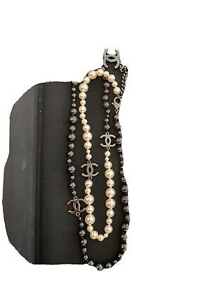 £1061.98 • Buy Chanel Pearl Necklace Authentic