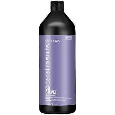 £17.95 • Buy Matrix Total Results Colour Obsessed So Silver Shampoo (1000ml)
