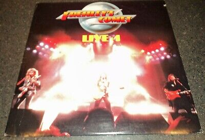 £14.15 • Buy Ace Frehley Of KISS Frehley's Comet Live + 1 Original 1988 Album With Sleeve
