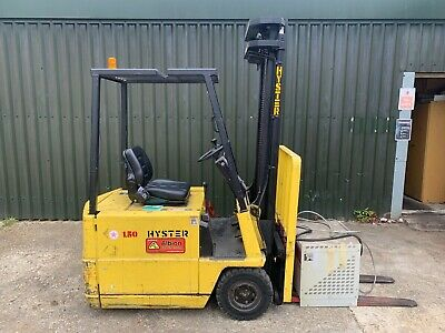 £700 • Buy Hyster 3 Wheeled Electric Forklift A1.50xl 3.8 M Mast Sideshift 1500 Kgs Lift