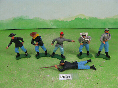 £10 • Buy Vintage Britains Plastic Acw Soldiers Collectable Models 2031