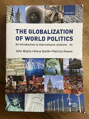 £5.30 • Buy The Globalization Of World Politics: An Intro To International Relations, 4th Ed