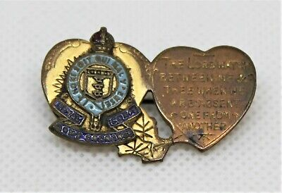 £10 • Buy World War Two Royal  Army Ordnance Corps Sweetheart Brooch - Thames Hospice