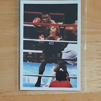 £150 • Buy 1986 Mike Tyson Rookie Card A Question Of Sport - Good Condition - See Photos
