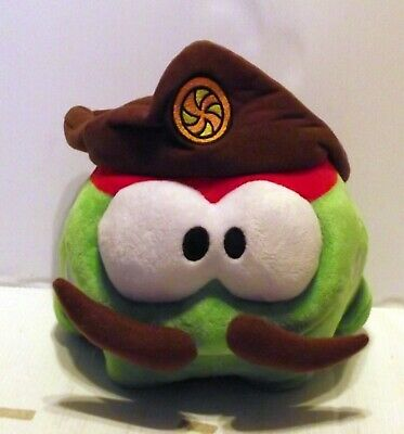 £6.99 • Buy 8  Cut The Rope Game Pirate Green Om Nom Soft Toy Plush