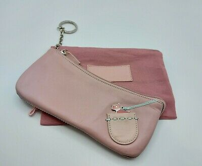 £22.99 • Buy Radley Small Dusky Pink Bag Pencil Case? Keyring Attachment Comes With Dust Bag