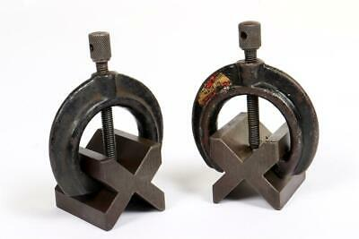 £6.01 • Buy 2 X Vintage ~  Engineering  V  Blocks And Clamps                           #1986
