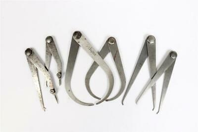 £2.70 • Buy 6 X Vintage ~  Moore & Wright  Calipers / Dividers                         #1988