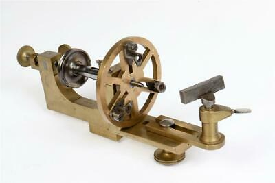 $ CDN90.79 • Buy Vintage ~ Brass And Steel Watchmakers Or Jewellers Lathe                   #2098