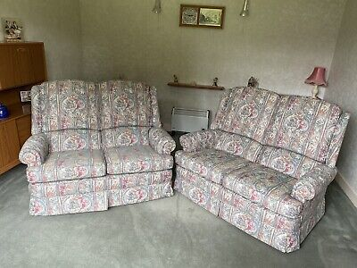 £50 • Buy Pair Of Vintage PARKER KNOLL 2 Seater Sofas