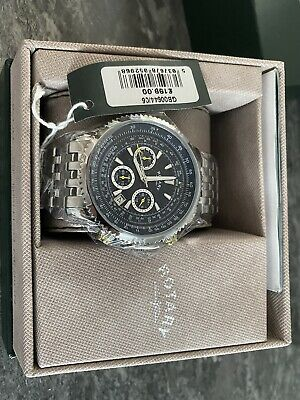 £34 • Buy Mens Rotary Exclusive Pilot Chronograph Watch GB00644/05