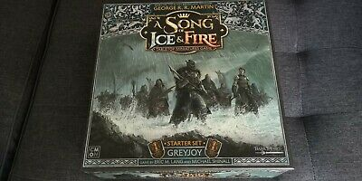 £75.99 • Buy A Song Of Ice And Fire TMG Greyjoy Starter Set