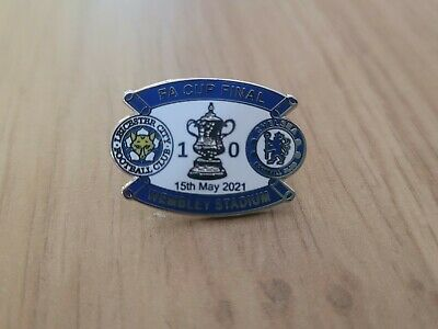 £4 • Buy Leicester City Fa Cup Final 2021 Pin Badge Rare!