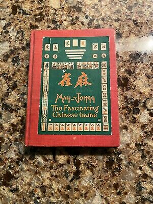 $35 • Buy Babcock's Rules For Mah-Jongg Book, A Scarce 1923 Find In Good Condition
