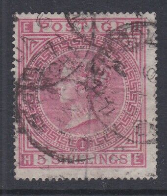 £31 • Buy Gb Stamps Queen Victoria High Value 5/- Five Shillings Fine Used Plate 1