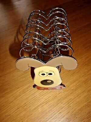 £3.99 • Buy Wallace And Gromit, Emanel Face Toast Rack - Letter Rack