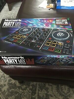 £45 • Buy Numark Party Mix USB 2 Channel DJ Controller With Built-in Light Show