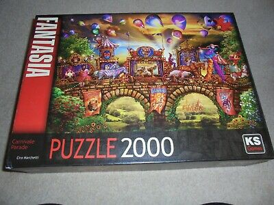 £7.99 • Buy KS Games 2000 Piece Jigsaw Puzzle The Carnivale Parade -Pre-owned