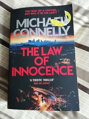£2 • Buy The Law Of Innocence Michael Connelly