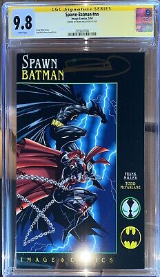 £72.57 • Buy Spawn Batman CGC SS 9.8 Signed By Frank Miller (1994)
