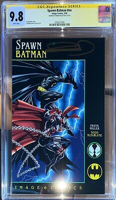 £247.79 • Buy Spawn Batman CGC SS 9.8 Signed By Frank Miller (1994)